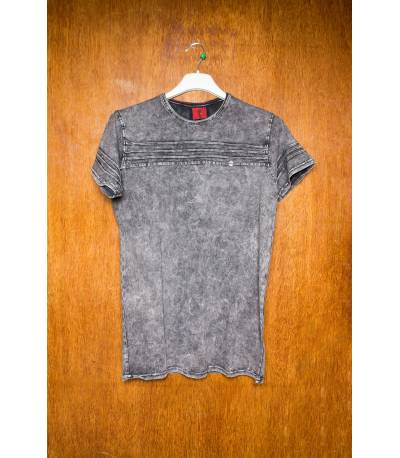 Mufti stride Grey T-Shirt