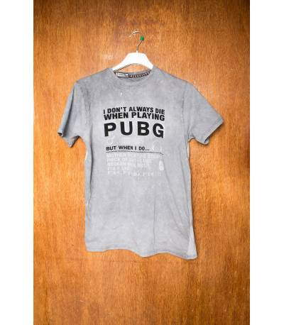 Future Pubg Grey T-Shirt