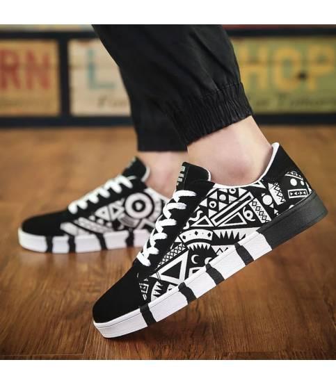 Sport Fashion Black & White Shoe