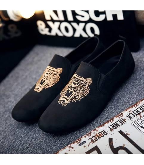 Men's Black Tiger Shoe