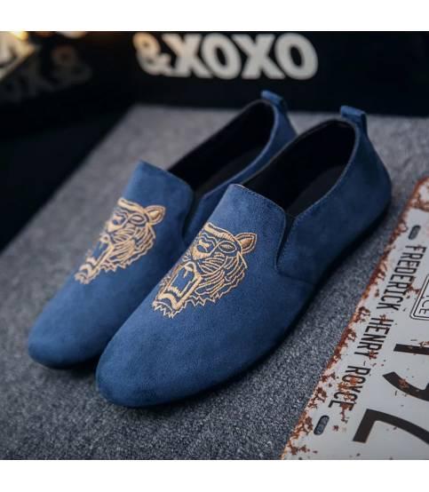 Men's Blue Tiger Shoe