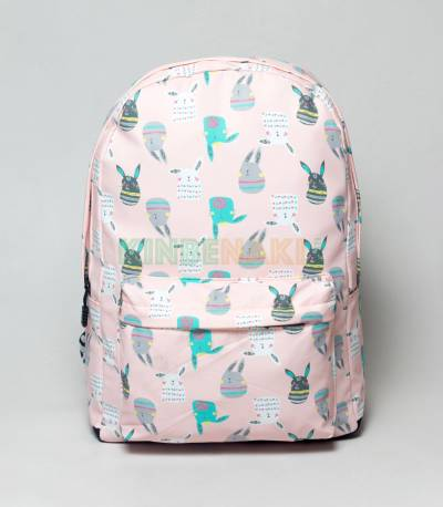 Pikachu Light Pink Girls Backpack