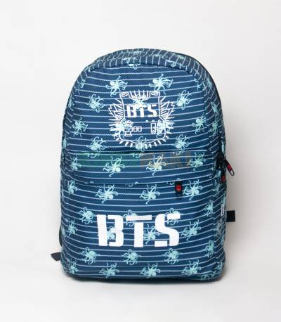 BTS White Step Spider Backpack