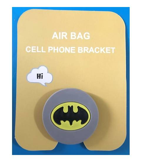 Air Bag Cell Phone Bracket Superman Finger Holder
