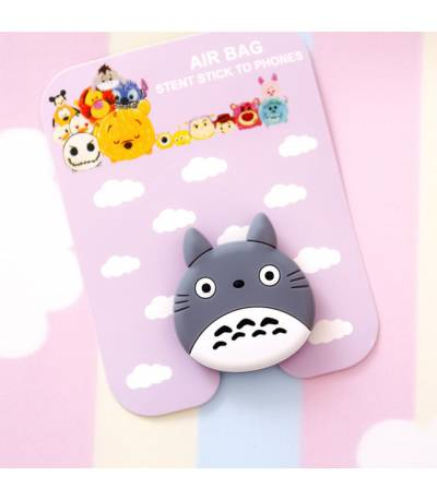 Air Bag Cell Phone Bracket Cute blue whale Finger Holder