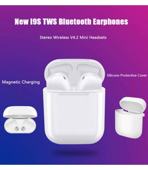 i9S TWins Wireless Mini Bluetooth Headset