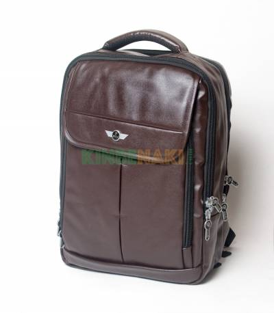 Pilot Dark Brown Men's Backpack
