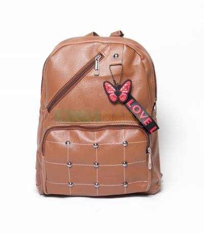 Love To Dress Butterfly Brown Color Girls Mini Backpack