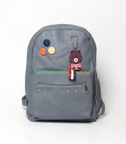 ZINC Gray Color Girls Mini Backpack