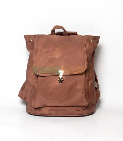 Lovely Girl Brown Color Mini Backpack
