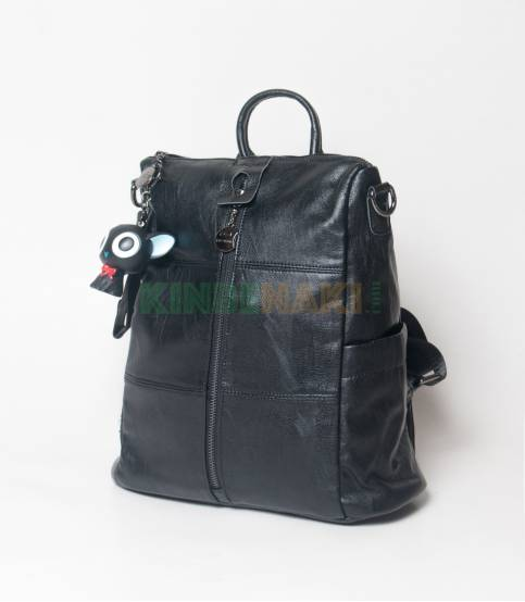 Aqiln Stylish Black Mini Backpack