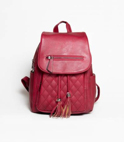 Hoodie Maroon Girls Mini Backpack