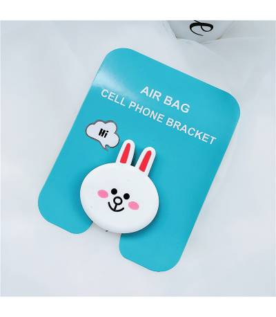 Air Bag Cell Phone Bracket Cute yellow PandaFinger Holder