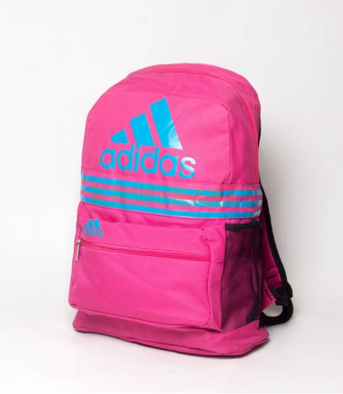 Adidas Blue & Orange Stripes Backpack