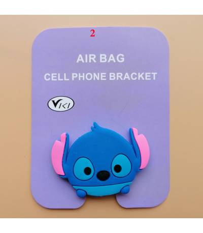 Air Bag Cell Phone Bracket Cute mouse cartoon Finger Holder