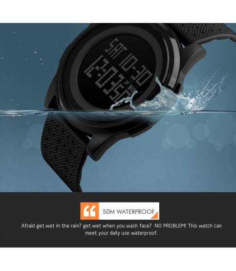 SKMEI Watch LED Digital Waterproof Sport Wrist Watch