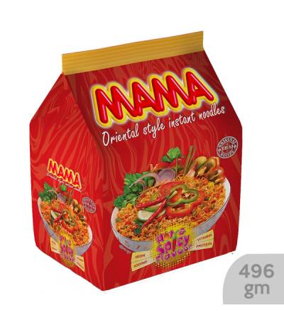 Mama Instant Noodles Hot & Spicy Flavour