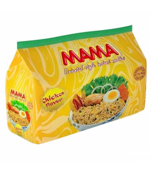 Mama Noodles Chicken Flavour 8 pcs
