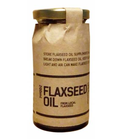 Flaxseed Oil Dhaka Dough