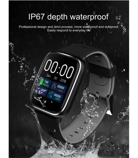 Q58S Touch Screen Smart Watch