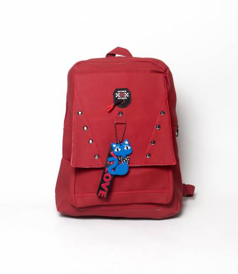 Love To Dress Butterfly Maroon Color Girls Mini Backpack V2