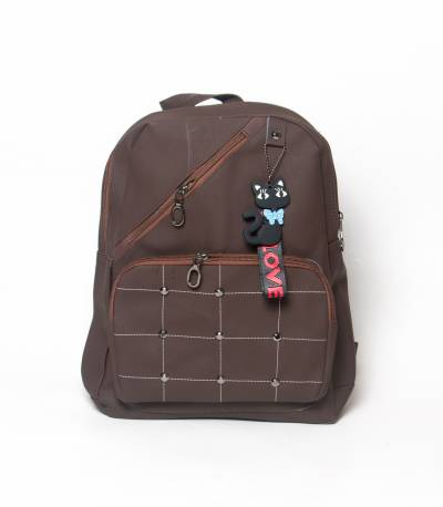 Love To Dress Butterfly Dark Chocolate Color Girls Mini Backpack