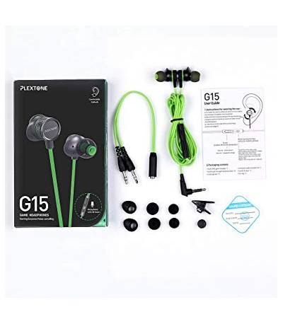 2019 PLEXTONE G15 Gaming Headset with Headset Bass Noise Cancelling