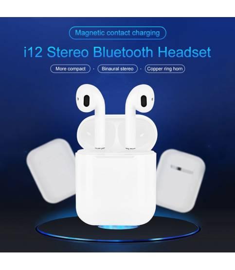 i12 tws Wireless Bluetooth 5.0 Earphone