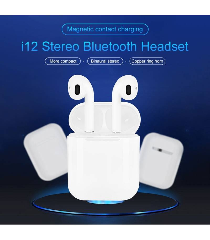 Buy Uiii12 Tws Wireless Bluetooth 5 0 Earphone In Bangladesh