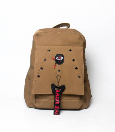 Love To Dress Butterfly Dark Olive Color Girls Mini Backpack V2