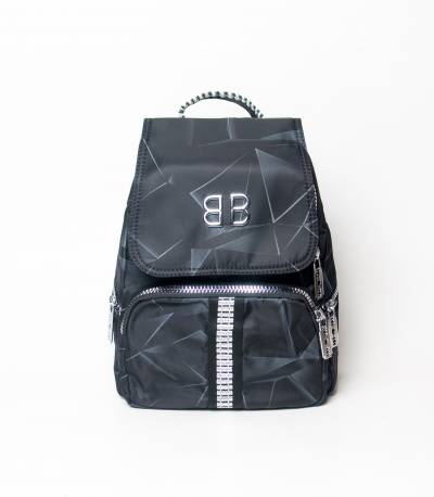 BB Abostar Design Black Girls Mini Backpack