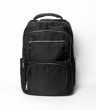 Fortune Black Color Laptop Backpack V2