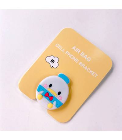 Air Bag Cell Phone Bracket Cute Baby chicken Finger Holder