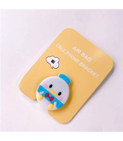 Air Bag Cell Phone Bracket Cute Baby chicken Finger Holder
