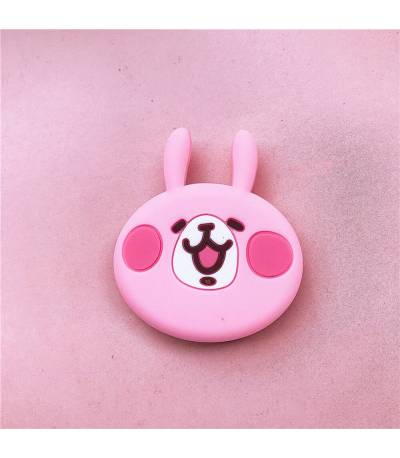 Cute pink rabbit pop socket