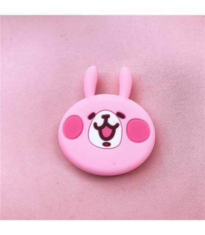 Cute pink rabbit pop socket