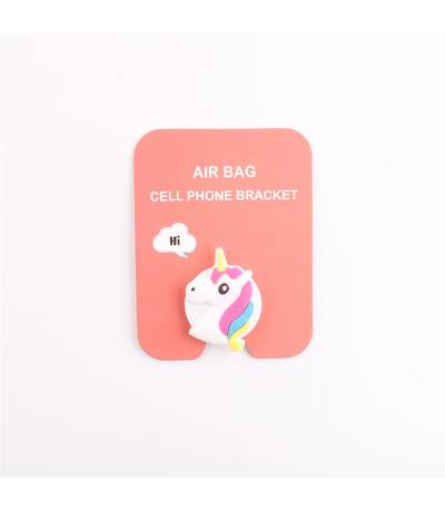 Air Bag Cell Phone Bracket Cute little pony Finger Holder