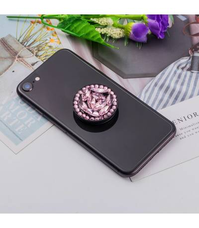 Pink Diamond Pop Socket