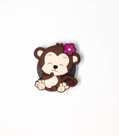 Cute Monkey Pop Socket