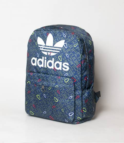 Adidas Navy And Olive Abstract Backpack