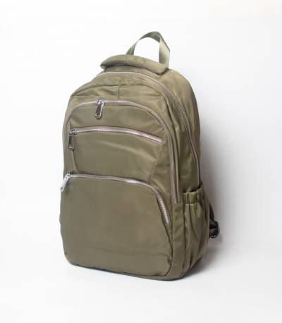 Fortune Olive Color Laptop Backpack