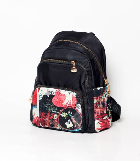 Chibao Multi Color Flower Girls Mini Backpack V2