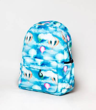 Rainbow Print Multiple Color Girls Backpack