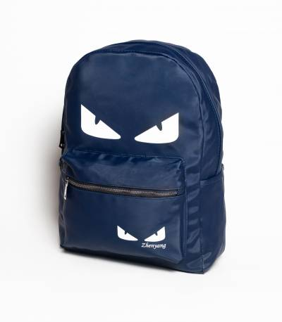 Eye Print Blue Backpack V2