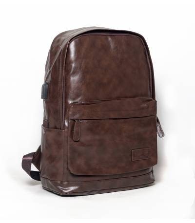 Lanchi Stylish Wooden Backpack