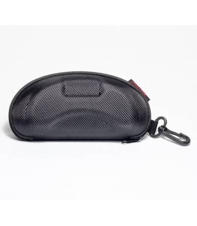 Zipper Sunglass Case with Cleaning Cloth