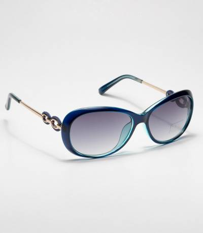 Kaizi Blue Frame Ladies Sunglass