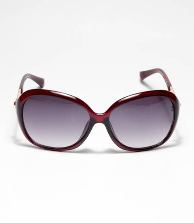 Oval Shape Redish ladies Sunglass