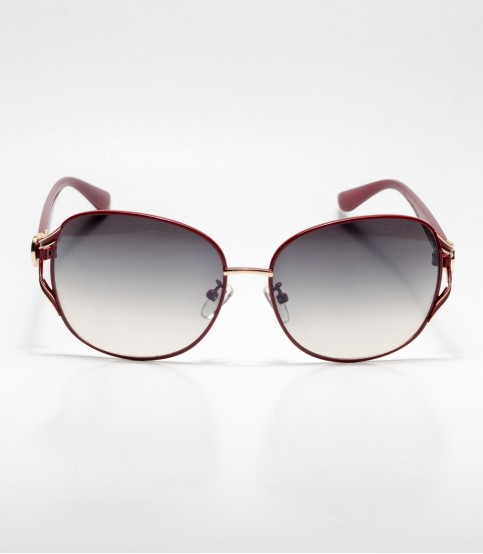 Gucci Chocolate Frame Oval Ladies Sunglass