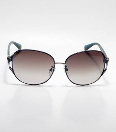 Gucci Blue Frame Oval Ladies Sunglass